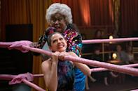 """<p>Although not about martial arts per se, <strong>GLOW</strong>'s focus on female wrestling in the 80s, with<br> a slew of hysterical moments in between, is everything we ever want to watch. <a class=""""link rapid-noclick-resp"""" href=""""https://www.popsugar.com/Alison-Brie"""" rel=""""nofollow noopener"""" target=""""_blank"""" data-ylk=""""slk:Alison Brie"""">Alison Brie</a> plays Ruth, an out-of-work actress who finds her big break in women's wrestling, joining 12 other eccentric characters. Just like life in the dojo, the women work together to give the fights everything they've got. </p> <p> <a href=""""https://www.netflix.com/search?q=glow&amp;jbv=80114988"""" class=""""link rapid-noclick-resp"""" rel=""""nofollow noopener"""" target=""""_blank"""" data-ylk=""""slk:Watch GLOW on Netflix."""">Watch <strong>GLOW</strong> on Netflix.</a></p>"""