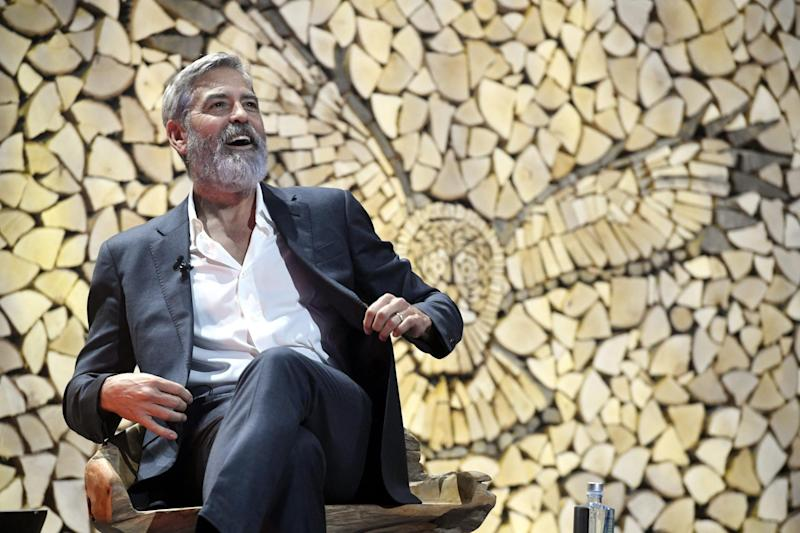 Clooney said he was ashamed of his home state (Lehtikuva/AFP via Getty Images)