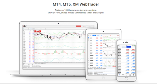 XM Global Trading - MT4 and MT5 Platforms