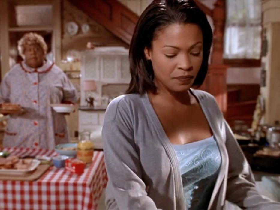 "Nia Long in 2000's ""Big Momma's House."""