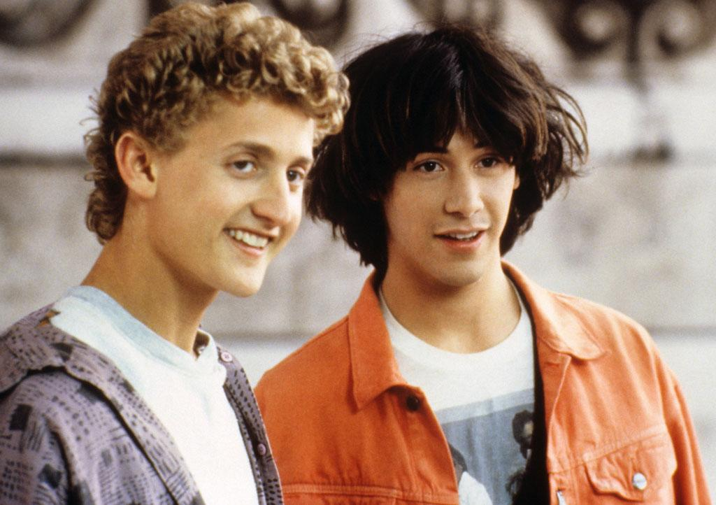 "<p><strong>Feb 17, 1989</strong> – Keanu Reeves' most excellent star vehicle, ""<a href=""http://movies.yahoo.com/movie/bill-and-teds-excellent-adventure/"">Bill & Ted's Excellent Adventure</a>"" was released on this day. Reeve's plays Ted Theodore Logan, one of two high-school slackers who use a phone booth time machine to bring back some most excellent figures to star in their history final.</p>"