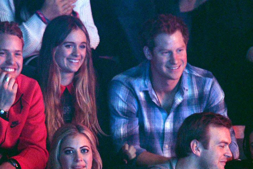 Prince Harry dated the actress/model for two years before breaking up in April 2014. Cressida was introduced to Harry by Princess Eugenie and was last spotted with the royal at his 31st birthday last September.