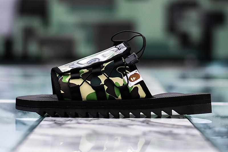 5c5b6240 The Collabs: A Bathing Ape and Suicoke Unite to Make Sandals for the ...
