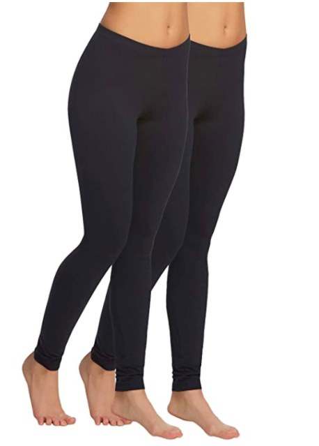 "<h3><a href=""https://www.amazon.com/Felina-Lightweight-Leggings-Breathable-Waistband/dp/B01N7F0QWI?th=1"" rel=""nofollow noopener"" target=""_blank"" data-ylk=""slk:Felina Velvety Super Soft Lightweight Legging 2-Pack"" class=""link rapid-noclick-resp"">Felina Velvety Super Soft Lightweight Legging 2-Pack</a></h3><br>Our Shopping Director swears by these leggings she found on Amazon. According to her, they are indeed velvety-soft as promised and run long so they're great for taller people. <br><br><strong>Felina</strong> Velvety Super Soft Lightweight Legging 2-Pack, $, available at <a href=""https://www.amazon.com/Felina-Lightweight-Leggings-Breathable-Waistband/dp/B01N7F0QWI"" rel=""nofollow noopener"" target=""_blank"" data-ylk=""slk:Amazon"" class=""link rapid-noclick-resp"">Amazon</a>"