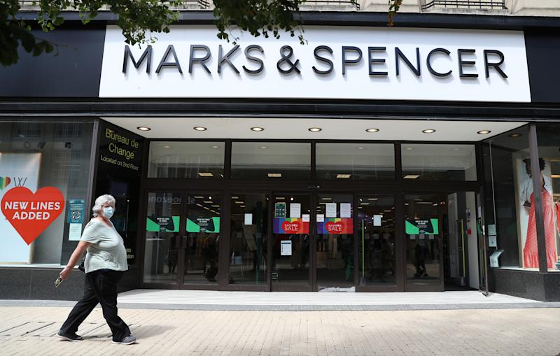 "M&S said it also expects a ""significant"" number of roles will be cut through voluntary departures."