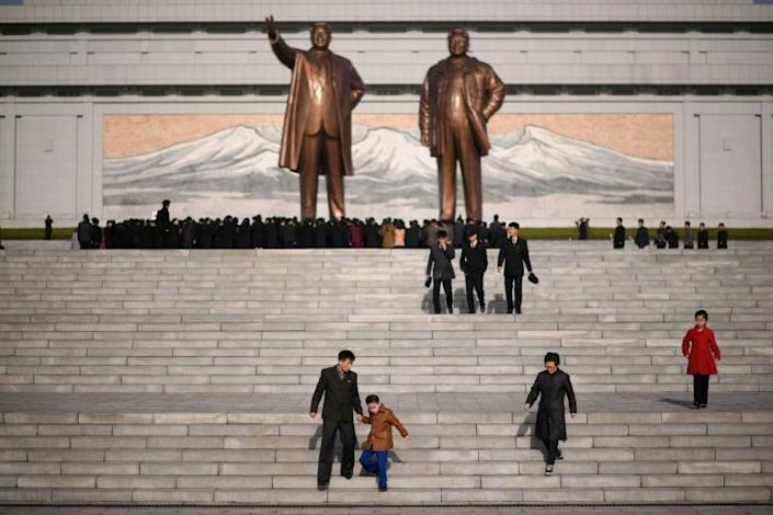 Defections to North Korea from the South are highly uncommon (AFP Photo/Ed JONES)