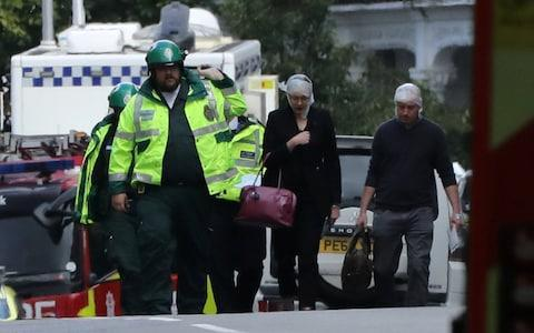 Parsons Green injured - Credit: LUKE MACGREGOR/Reuters