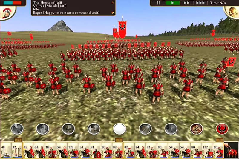 Feral Interactive brings classic strategic gaming to iPad with 'Rome: Total War'