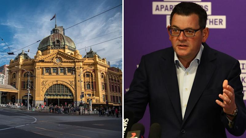 Victorian Premier Daniel Andrews has urged locals to stay at home if they have symptoms or are waiting on a result. Images: Getty