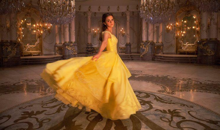 Emma Watson as Belle in 'Beauty and the Beast'.