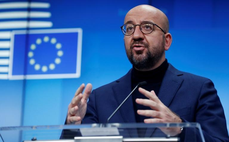 """European Council President Charles Michel sad in a tweet """"Online messages glorifying terrorism must be quickly removed. There must be no impunity for terrorists and those praising them on internet"""""""