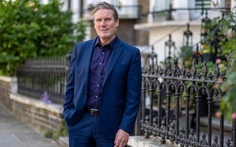 Keir Starmer, Leader of the Opposition and Labour MP for Holborn and St Pancras - Heathcliff O'Malley