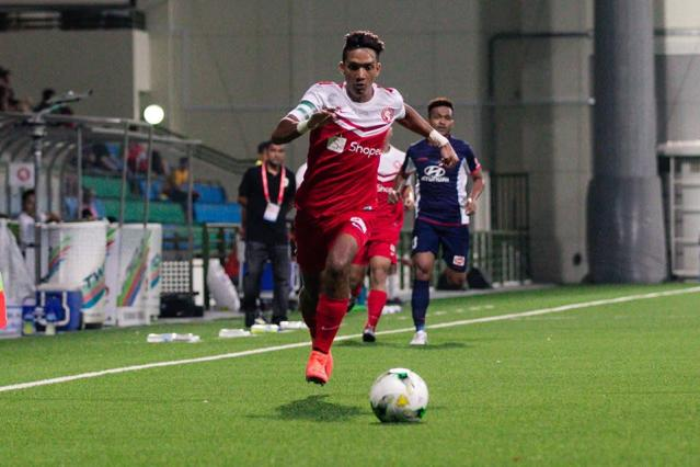 Zharfan Rohaizad has been impressive in goal for the Young Lions this season....