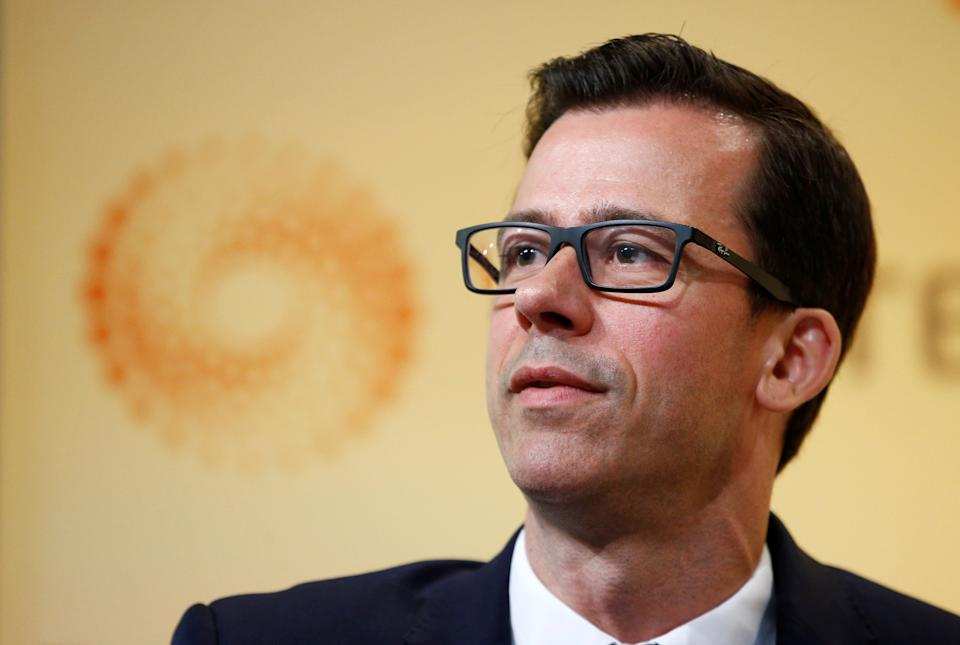 Gertjan Vlieghe, Bank of England Monetary Policy Committee member, has said the UK economy is 'not out of the woods', pushing back against inflation hawks. Photo: Henry Nicholls/Reuters