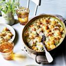 """<p><a href=""""https://www.goodhousekeeping.com/uk/food/cookery-videos/a657372/how-to-make-gnocchi/"""" rel=""""nofollow noopener"""" target=""""_blank"""" data-ylk=""""slk:Gnocchi"""" class=""""link rapid-noclick-resp"""">Gnocchi</a> is a fantastic ingredient. It cooks so quickly and it can also be the basis of a super speedy midweek meal. </p><p>It's also not just a winter dish. Our <a href=""""https://www.goodhousekeeping.com/uk/food/recipes/a35779757/crispy-spring-gnocchi/"""" rel=""""nofollow noopener"""" target=""""_blank"""" data-ylk=""""slk:crispy spring gnocchi"""" class=""""link rapid-noclick-resp"""">crispy spring gnocchi</a>, with asparagus and spinach is perfect for warmer seasons - it's also on the table in 20 mins.</p>"""