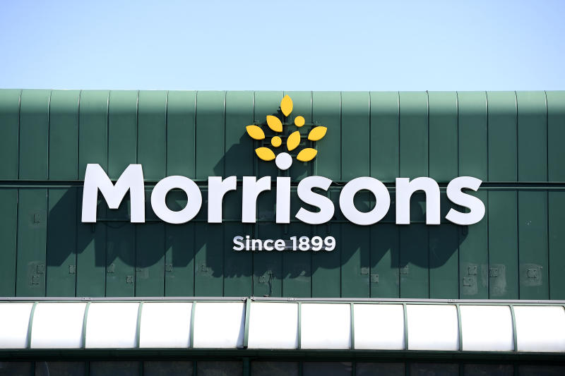 BRADFORD, ENGLAND - MAY 06: A general view of a Morrisons supermarket on May 06, 2020 in Bradford, England. The UK is continuing with quarantine measures intended to curb the spread of Covid-19, but as the infection rate is falling government officials are discussing the terms under which it would ease the lockdown. (Photo by George Wood/Getty Images)