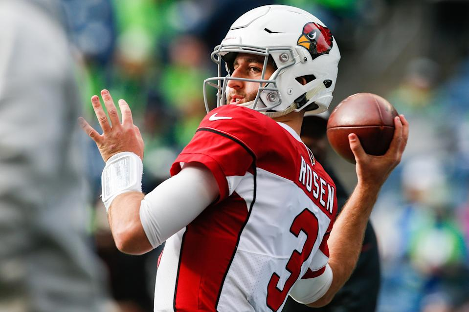 Kliff Kingsbury will be tasked with making Josh Rosen's life much easier in 2019. (Photo by Otto Greule Jr/Getty Images)