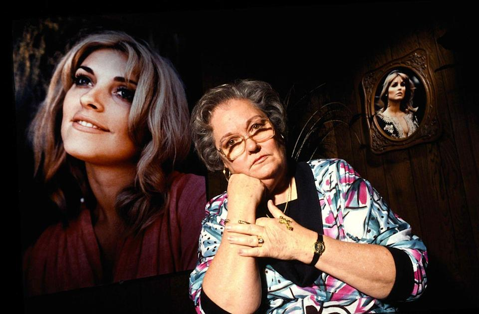 <p>Tate's mother Doris Tate (pictured) and sister Debra Tate have fought to honor her life by standing up for victims of violence. Doris founded the Coalition on Victims' Equal Rights and helped pass the Victims' Rights Bill in 1982. </p>