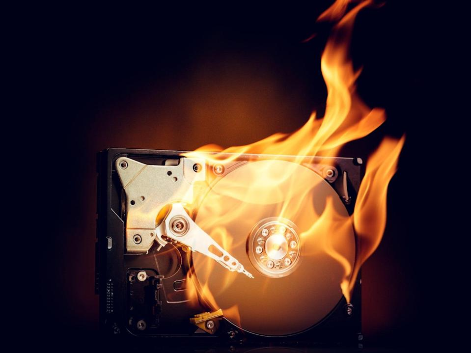 <p>Chia has been accused of burning out hard drives in a matter of weeks, leading to e-waste concerns</p> (Getty Images/iStockphoto)