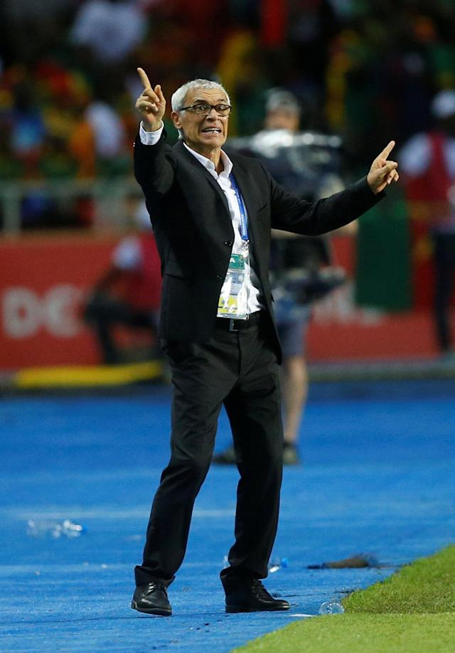 FILE PHOTO: Football Soccer - African Cup of Nations - Final - Egypt v Cameroon - Stade d'AngondjŽ - Libreville, Gabon - 5/2/17 Egypt coach Hector Cuper Reuters / Mike Hutchings Livepic /File Photo
