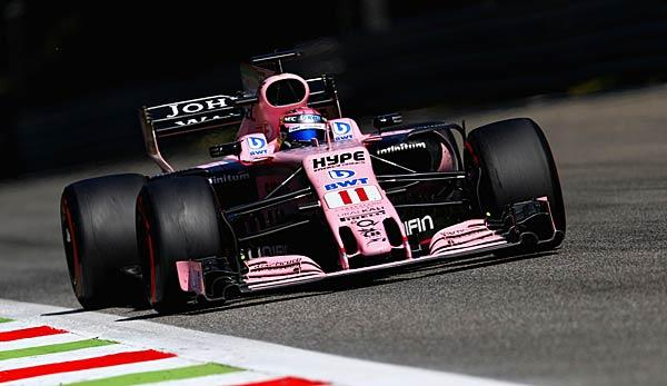 Formel 1: Sergio Perez auch 2018 bei Force India