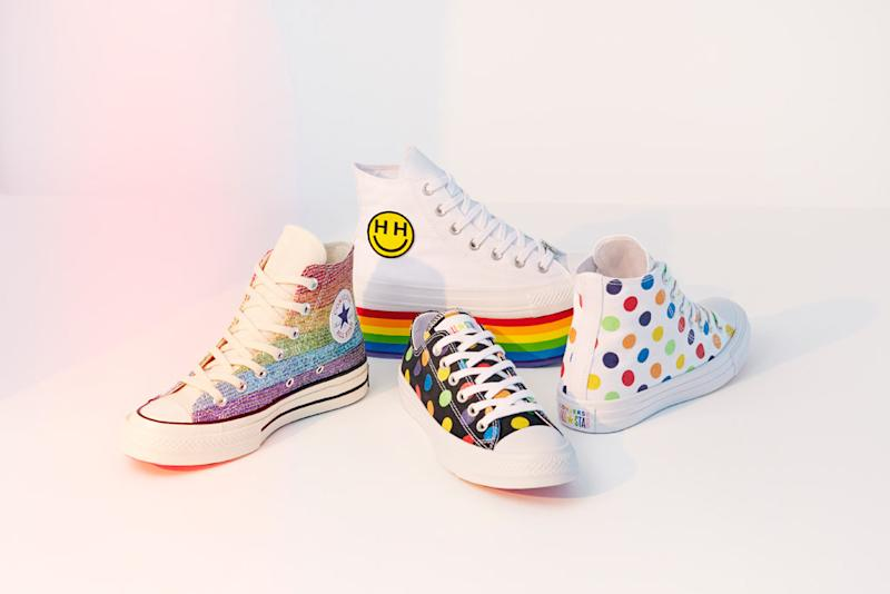 Miley Cyrus   Converse s Pride Collection Comes With Rainbows   Plenty of  Sparkles 480371f87
