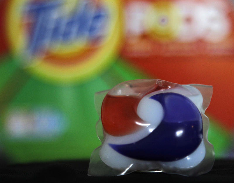 P&G to add latches to make detergent packs safer