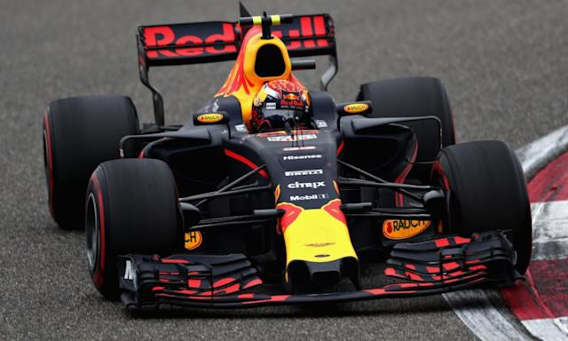 "<span class=""element-image__caption"">Red Bull's Max Verstappen has flaws that come with youth but they are matched by an audacity that is a joy to behold.</span> <span class=""element-image__credit"">Photograph: Lars Baron/Getty Images</span>"