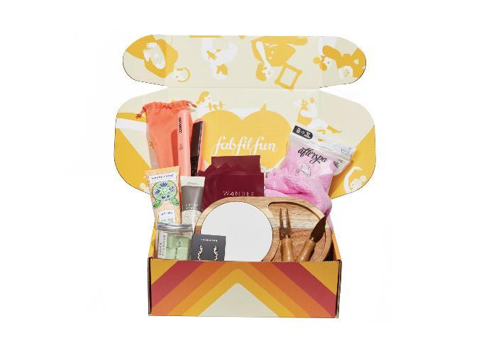 """<h2>30. FabFitFun</h2> <p><strong>Cost: </strong>$50/quarterly</p> <p><strong>What you get: </strong>Eight to 10 full-size items per box</p> <p><strong>Why we love it: </strong>If you love the idea of subscription boxes, but not how specialized they are, <a href=""""https://fabfitfun.com/get-the-box/?step=getbox&variant=b&utm_expid=31552852-19.ItG4-_hrQkayzeChmzP4hg.1&utm_referrer=https%3A%2F%2Ffabfitfun.com%2Fwelcome%2F#getstarted"""" rel=""""nofollow noopener"""" target=""""_blank"""" data-ylk=""""slk:FabFitFun's"""" class=""""link rapid-noclick-resp"""">FabFitFun's</a> quarterly box comes with a mix of seasonal products across beauty, health, wellness and fashion. Plus, you'll get access to exclusive offers from their brand partners and options to add additional items to your box.</p> <p><a class=""""link rapid-noclick-resp"""" href=""""https://fabfitfun.com/get-the-box/?step=getbox&variant=b&utm_expid=31552852-19.ItG4-_hrQkayzeChmzP4hg.1&utm_referrer=https%3A%2F%2Ffabfitfun.com%2Fwelcome%2F#getstarted"""" rel=""""nofollow noopener"""" target=""""_blank"""" data-ylk=""""slk:Sign Up for FabFitFun"""">Sign Up for <em>FabFitFun</em></a></p>"""