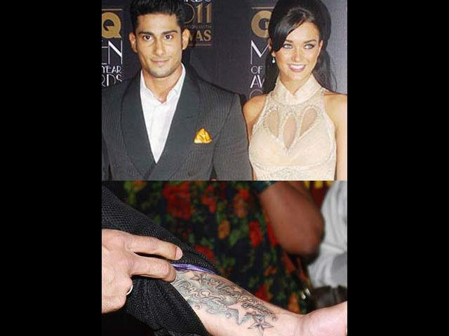 "<b>1. Prateik </b><br> Here is a new lover boy in town. Following Saif's footsteps Prateik too got his girl's name inked on his wrist and proudly flaunts it to the world. Prateik who is dating Amy Jackson, his co-star from his film ""Ekk Deewana Tha"" has fallen head over heels in love with her. He has a colourful tattoo on his wrist that says ""Mera Pyaar, Meri Amy"" (My Love, My Amy).  Now that's what we call a grand way to announce your love to the world."