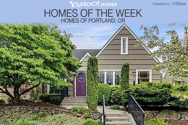 Welcome to Yahoo! Homes of the Week, powered by  Zillow. Each Monday we'll spotlight homes for sale in fresh ways. This week  we're looking at homes for sale in Portland, OR. We welcome your input  @YahooHomes as we continue to refine this feature for you.