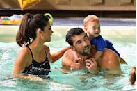 <p>The athlete's children have quite the legacy to live up to. Since the Olympian's family first inspired him to begin swimming, it's no surprise that Boomer Phelps has already been spotted in the pool. </p>