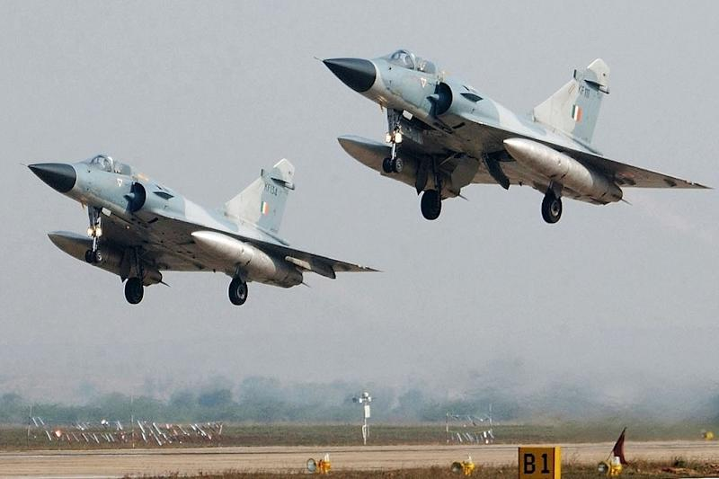 File photo of Mirage air crafts. (Image: AFP PHOTO)