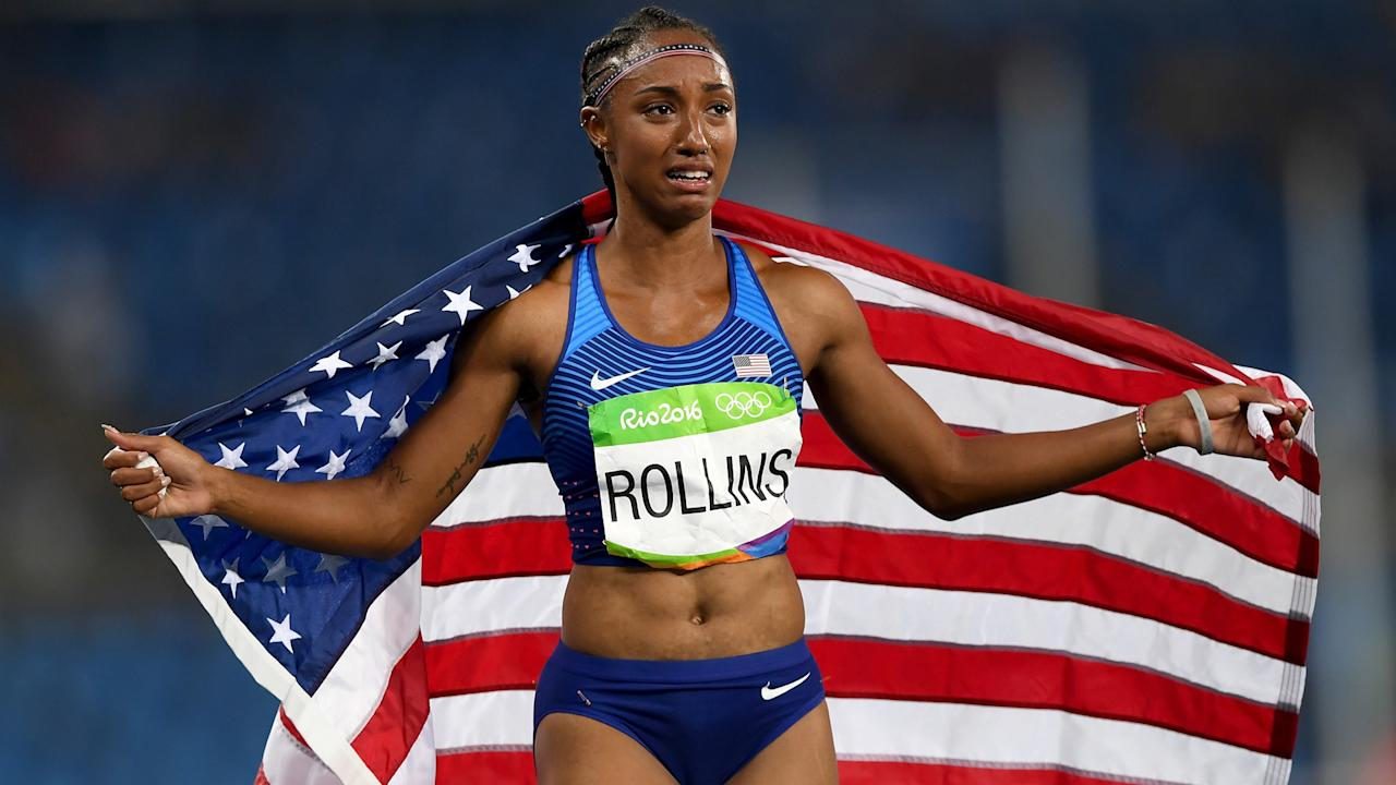 After missing three drugs tests in 2016, Brianna Rollins – a gold medallist in Rio – was banned.