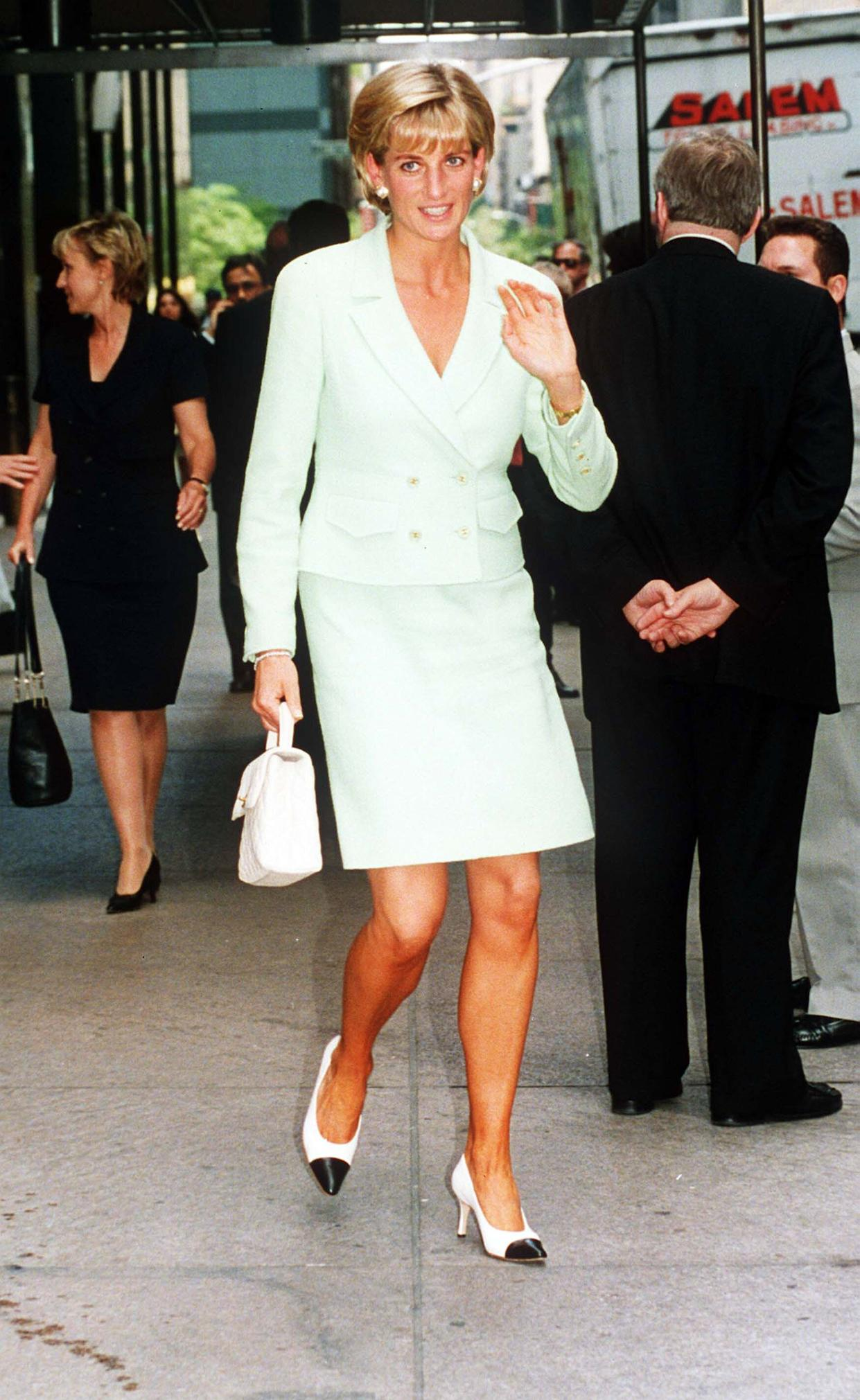 Princess Diana pictured in New York in July 1997. [Photo: PA]