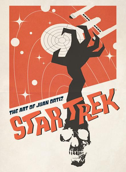 """Cover art from the book """"Star Trek: The Art of Juan Ortiz."""" In the book, Ortiz has meticulously crafted a movie-like poster for each episode of """"Star Trek's"""" original series."""