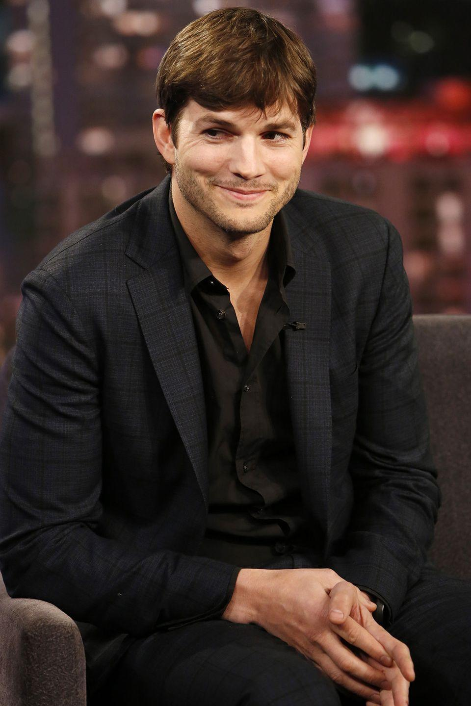 """<p><strong>Born</strong>: Christopher Ashton Kutcher</p><p>Ashton Kutcher revealed his real first name at the 2013 <span class=""""redactor-unlink"""">Teen Choice Awards, where he received the Ultimate Choice Award.</span> The <a href=""""https://www.youtube.com/watch?v=f6-lEGEgIzk"""" rel=""""nofollow noopener"""" target=""""_blank"""" data-ylk=""""slk:actor joked"""" class=""""link rapid-noclick-resp"""">actor joked</a> that it's actually the """"old guy"""" award and he feels like a fraud, <span class=""""redactor-unlink"""">revealing</span>: """"My name is not even actually Ashton."""" The funny guy explained that he decided to go by his middle name when he was first trying to make it in Hollywood at the age of 19.</p>"""