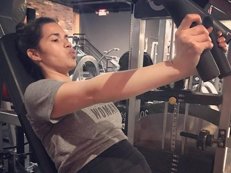 America Ferrera determined to stay fit during second pregnancy