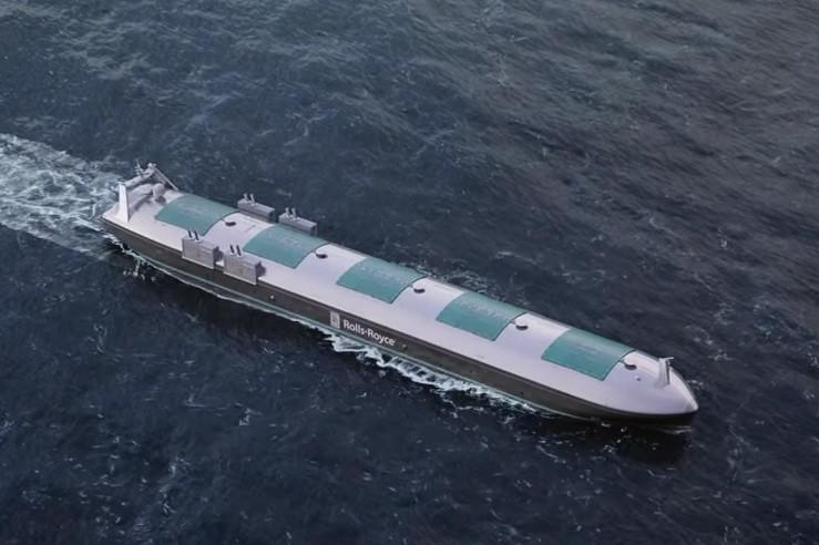 Rolls-Royce's cargo ship of the future requires no onboard crew