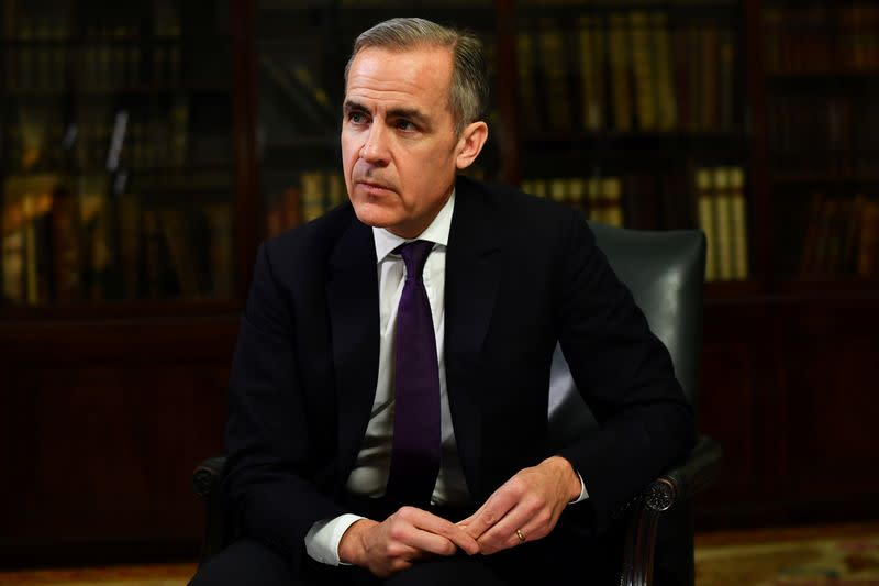 Mark Carney, Governor of the Bank of England, poses for a portrait in London