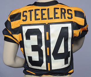 the best attitude b7f84 cd158 James Harrison doesn't like the Steelers' throwback jerseys