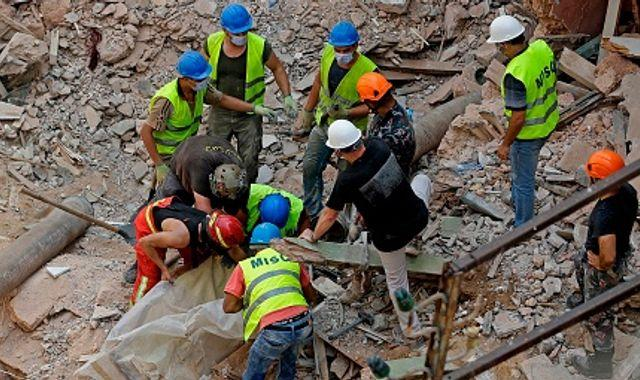 Beirut explosion: 'No signs of life' after hopes raised in rubble of Lebanon capital