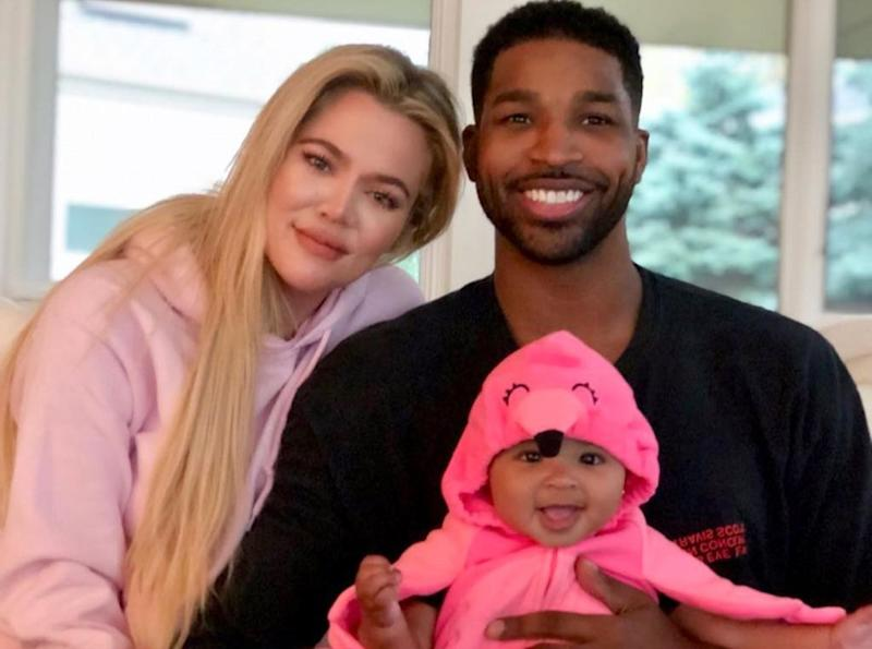 Khloé Kardashian, Tristan Thompson and daughter True