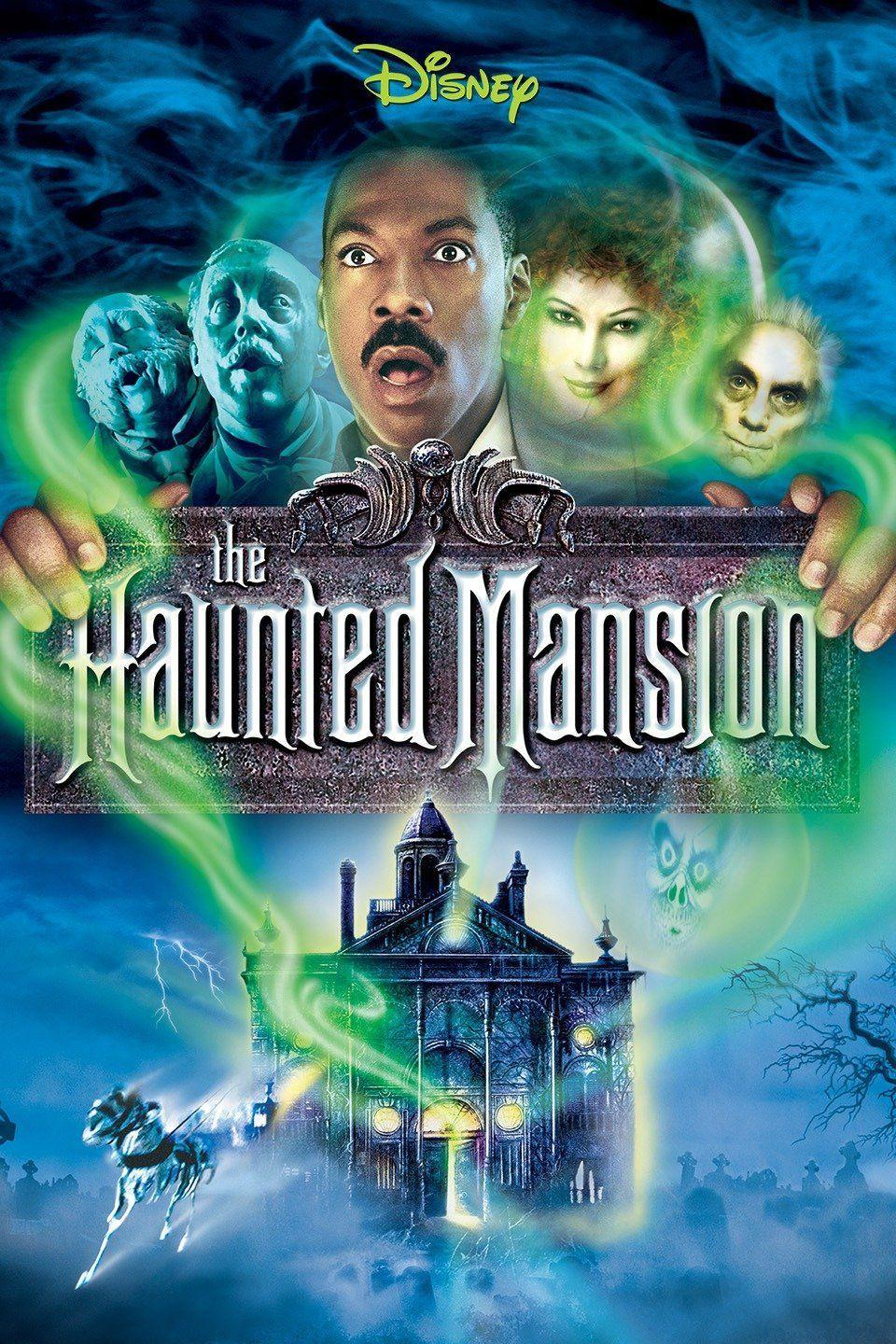 """<p>Funny man Eddie Murphy stars in this spooky tale of a real estate agent who, along with his wife and two children, try to rescue a historic haunted mansion from its cursed existence.</p><p><a class=""""link rapid-noclick-resp"""" href=""""https://go.redirectingat.com?id=74968X1596630&url=https%3A%2F%2Fwww.disneyplus.com%2Fmovies%2Fthe-haunted-mansion%2F6RcGqdevf15z&sref=https%3A%2F%2Fwww.countryliving.com%2Flife%2Fentertainment%2Fg32748070%2Fdisney-plus-halloween-movies%2F"""" rel=""""nofollow noopener"""" target=""""_blank"""" data-ylk=""""slk:WATCH NOW"""">WATCH NOW</a></p>"""