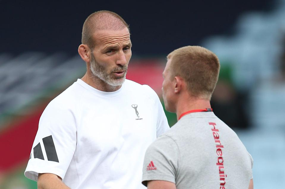 <p>Flannery linked up with Paul Gustard and Harlequins earlier this year</p>Getty Images for Harlequins