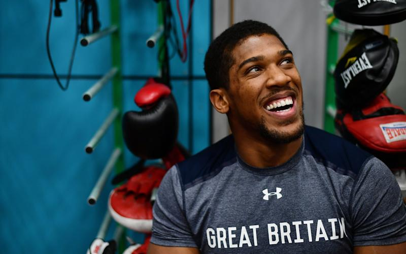 Anthony Joshua is set to triple his earnings in his fight with Wladimir Klitschko  - 2017 Getty Images