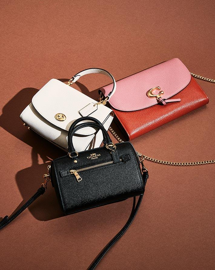 Save an extra 15% on sale styles at Coach Outlet. Image via Coach.