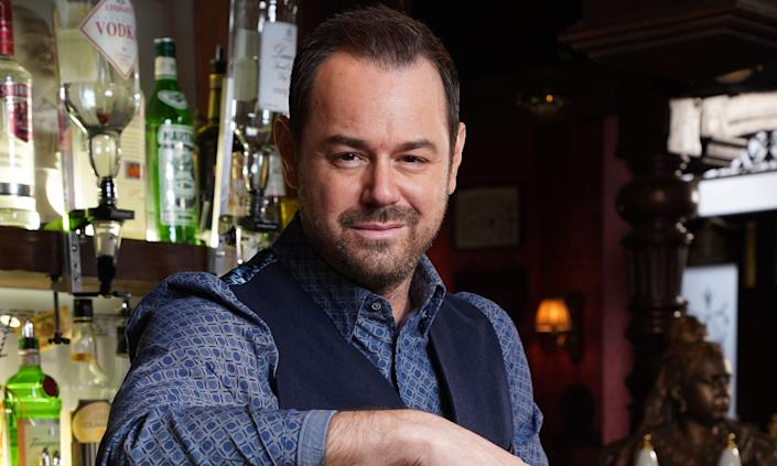 Danny Dyer is up for another gong. (BBC/Kieron McCarron)