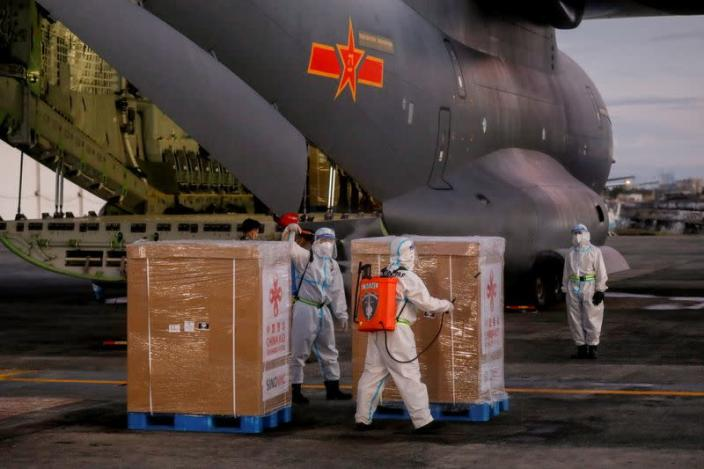 First shipment of COVID-19 vaccine arrives in Philippines