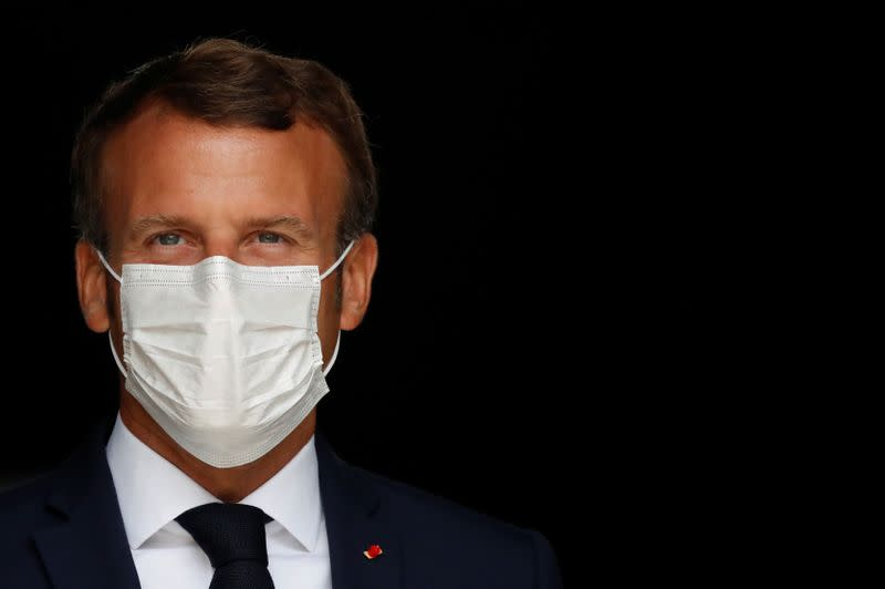 Macron renews calls for French sovereignty in healthcare and industry